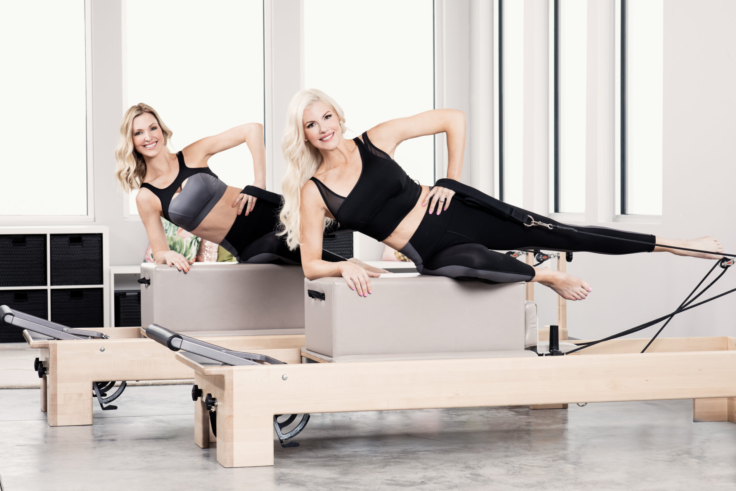 Tiffany & Korin In Michi Pilates Wear
